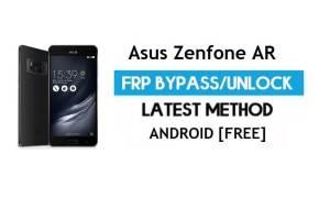 Asus Zenfone AR ZS571KL FRP Bypass – Unlock Gmail Lock Android 7