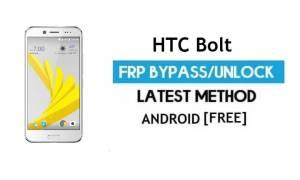 HTC Bolt FRP Bypass/Google unlock (Android 7.1) [Fix Location & Youtube Update]