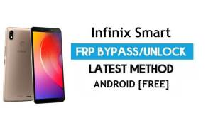 Infinix Smart FRP Bypass – Unlock Gmail lock Android 7.0 Without PC