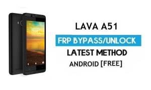Lava A51 FRP Unlock Google Account Bypass | Android 6.0 (Without PC)