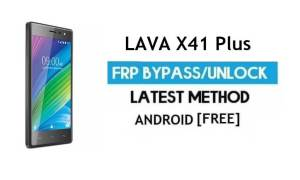 Lava X41 Plus FRP Unlock Google Account Bypass | Android 6.0 (No PC)