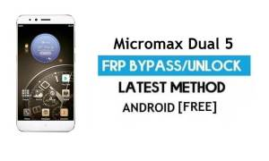 Micromax Dual 5 FRP Bypass Without PC – Unlock Gmail lock Android 6.0