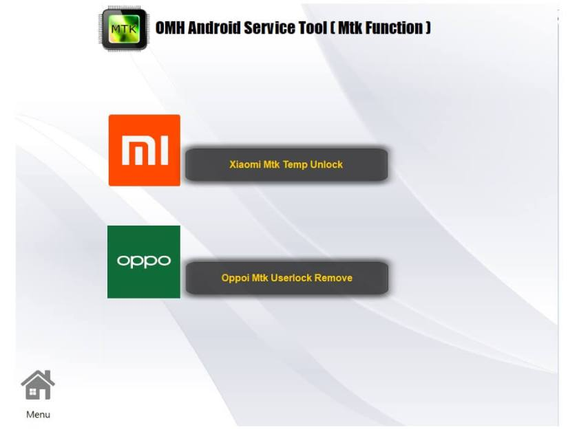 MTK : All in One Android Repair Tool 2021 | OMH Android Service Tool V4.3.0