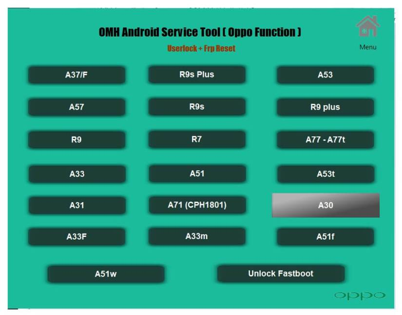Oppo All in One Android Repair Tool 2021 | OMH Android Service Tool V4.3.0