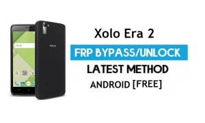 XOLO Era 2 FRP Bypass – Unlock Google Gmail Lock (Android 6.0) Without PC Latest
