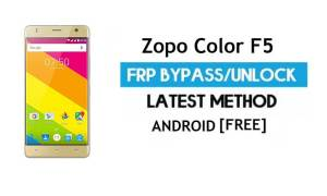 Zopo Color F5 FRP Bypass Without PC – Unlock Gmail Lock Android 6.0