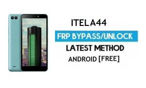 Itel A44 FRP Bypass – Unlock Gmail Lock Android 7.0 Fix Youtube Update