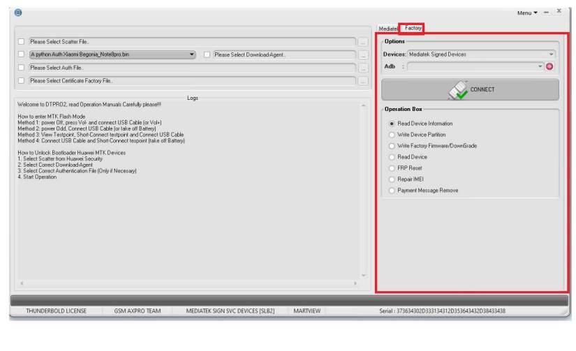 DTPro MTK Unlock Tool Download Full Free (Format/FRP/Pattern) 2021