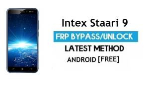 Intex Staari 9 FRP Bypass – Unlock Gmail Lock Android 7.0 Without PC