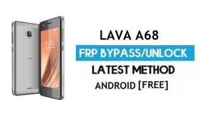 Lava A68 FRP Unlock/ Google Account Bypass | ANDROID 6.0 (Without PC)