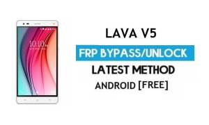 Lava V5 FRP Unlock Google Account Bypass | Android 6.0 (Without PC)