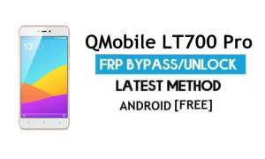 QMobile LT700 Pro FRP Unlock Google Account Bypass Android 6.0
