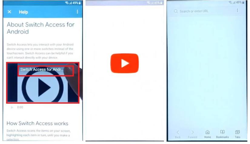 Play the Video to Samsung Android 7 FRP Bypass Unlock Google GMAIL Fix Youtube and Location Update