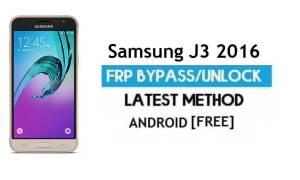 Samsung J3 2016 SM-J320 FRP Bypass – Unlock Gmail Lock Android 7.0