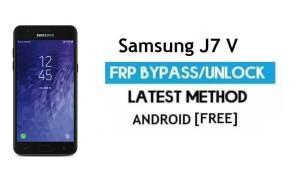 Samsung J7 V SM-J727V FRP Bypass – Unlock Google Lock [Android 7.0]