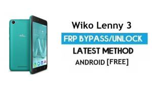 Wiko Lenny 3 FRP Unlock Google Account Bypass Android 6.0 Without PC