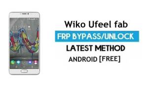 Wiko Ufeel fab FRP Unlock Google Gmail Bypass Android 6.0 Without PC
