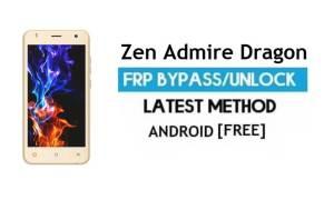 Zen Admire Dragon FRP Unlock Google Account Bypass Android 6.0 free