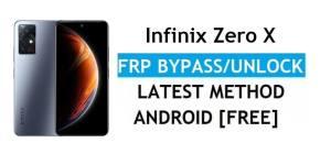 Infinix Zero X FRP Bypass Android 11 – Unlock Google Gmail Verification – Without PC [Latest Free]