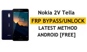 Reset FRP Nokia 2V Tella Bypass Google lock Android 10 Without PC/Apk