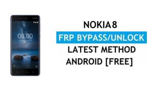 Reset FRP Nokia 8 - Bypass Google Gmail lock Android 9 Without PC/APK