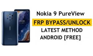 Reset FRP Nokia 9 PureView Bypass Google Android 10 Without PC/APK