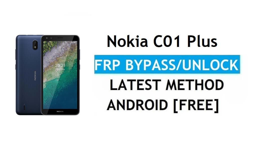 Nokia C01 Plus Android 11 FRP Bypass Unlock Google Gmail Lock Latest