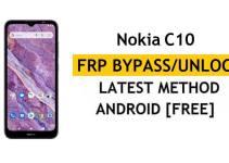 Nokia C10 FRP Bypass [Android 11 Go] Unlock Google Account Free New Method