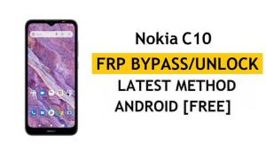 Nokia C10 FRP Bypass [Android 11 Go] Unlock Google Account Lock Free