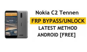 Reset FRP Nokia C2 Tennen Bypass Google Android 10 Without PC/APK