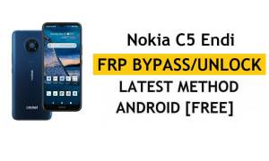Reset FRP Nokia C5 Endi Bypass Google lock Android 10 Without PC/Apk