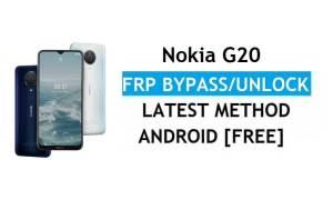 Nokia G20 Android 11 FRP Bypass Unlock Google Gmail Lock Latest Free