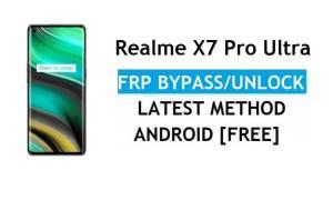 Realme X7 Pro Ultra Android 11 FRP Bypass Unlock Google Gmail No PC