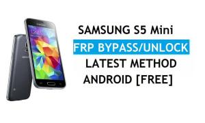 Samsung S5 Mini SM-G800 FRP Bypass Android 6.0 Unlock Latest Free