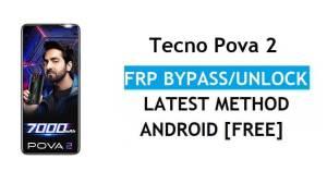 Tecno Pova 2 Android 11 FRP Bypass Unlock Google Gmail Lock Latest
