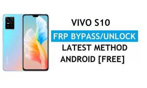 Vivo S10 V2121A Android 11 FRP Bypass Unlock Gmail Lock Without PC