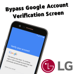 Bypass Google Account LG