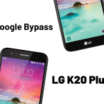 How to Google Bypass LG K20 Plus
