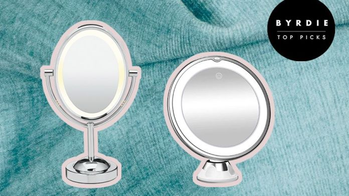 The 11 Best Lighted Makeup Mirrors In 2021