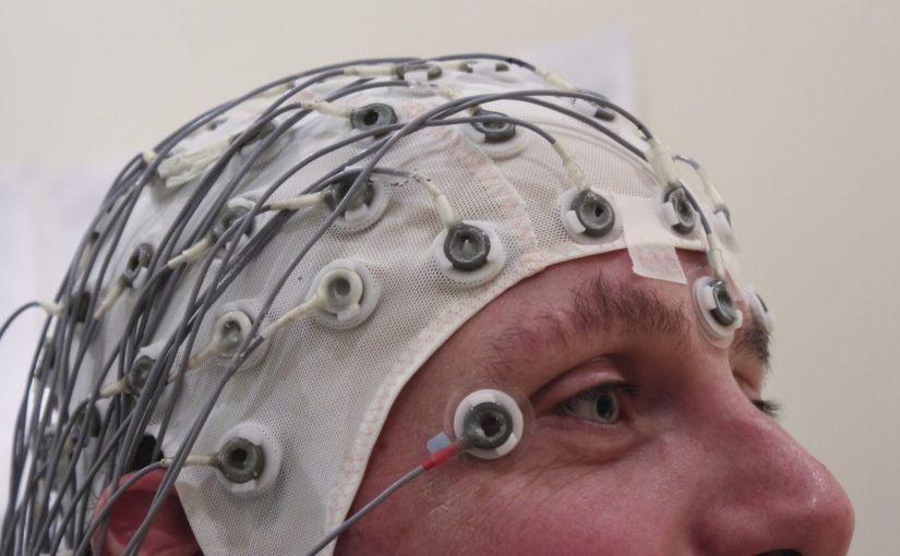 """EEG Recording Cap"" by Colin licensed under CC by 2.0"