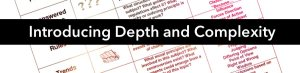 Introducing Depth and Complexity