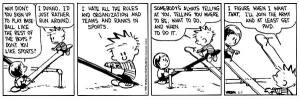 Calvin, High-Energy, and Sports