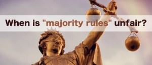 Paradox: Does Majority Rule?