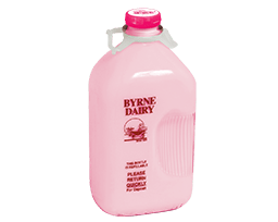 strawberry milk from byrne dairy width=