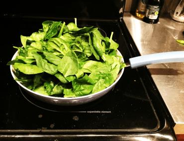 In the Kitchen Greek Yoghurt Spinach Dip image