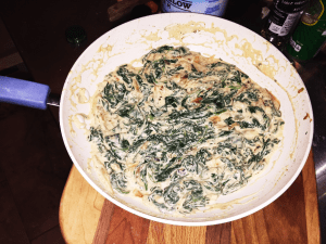 In the Kitchen step 4 - In the Kitchen: Greek Yoghurt Spinach Dip