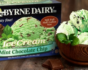 ice cream for sale mint chocolate chip from byrne dairy