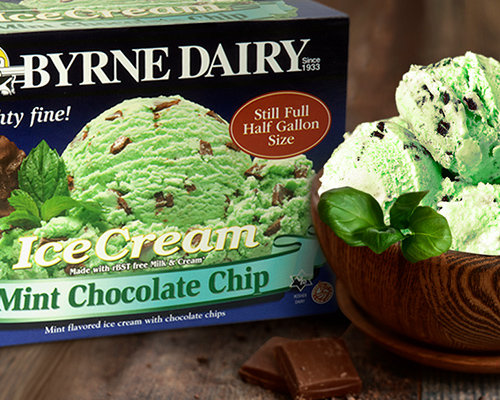 Mint Chocolate Chip Ice Cream from byrne dairy - Ice Cream for Sale