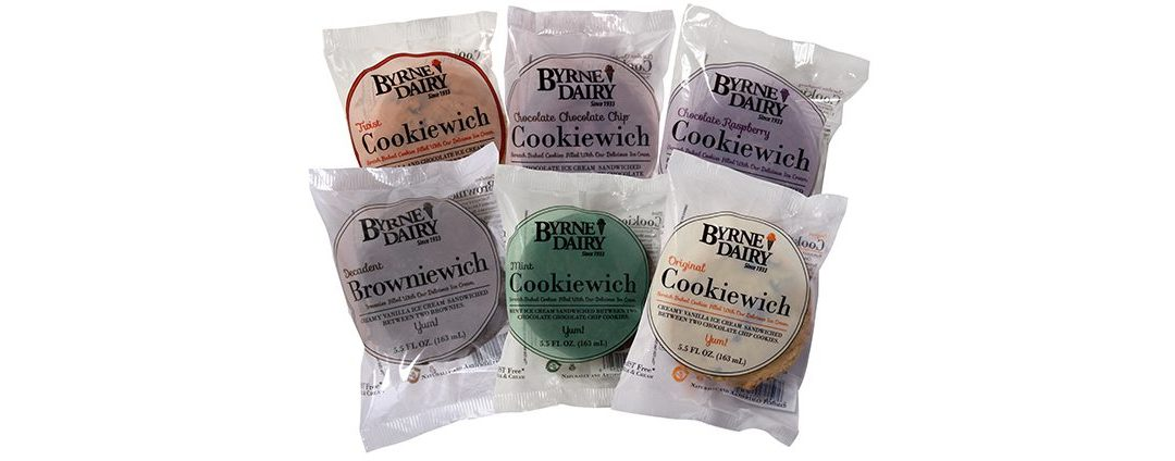 Byrne Dairy's Cookiewich Sandwiches Big Branding with Family Roots