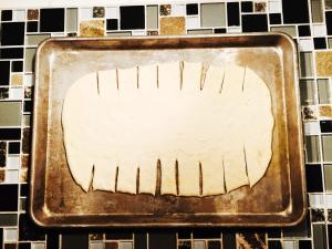 pizza cutter 2 300x225 - Chicken Wing Pizza Braid